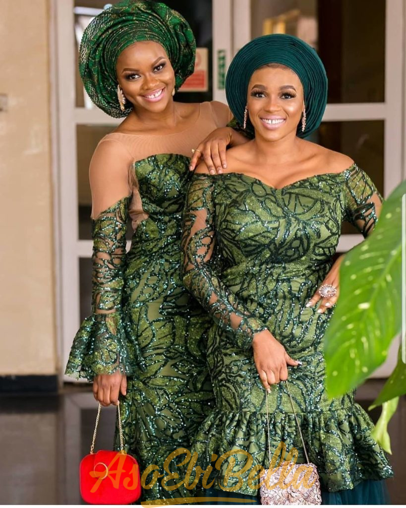 #EbFabLook Vol 46A: Presenting Top New Aso-Ebi Bella Style Worn Last Week