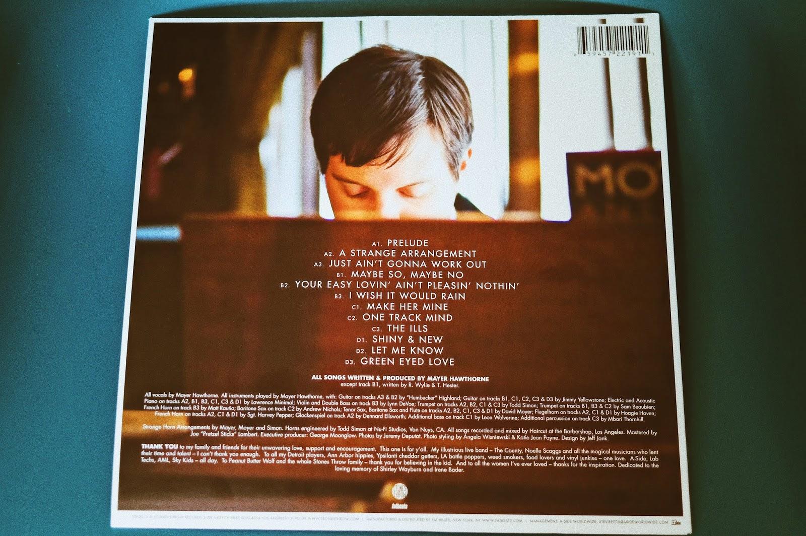 10 Jahre  'A Strange Arrangement' von Mayer Hawthorne. Der Multiinstrumentalist bringt bald wieder ein neues Album heraus, Zeit sich sein Debüt noch mal zu Gemüte zu führen. Ein Plattenküchen Beitrag aus dem Atomlabor Blog.