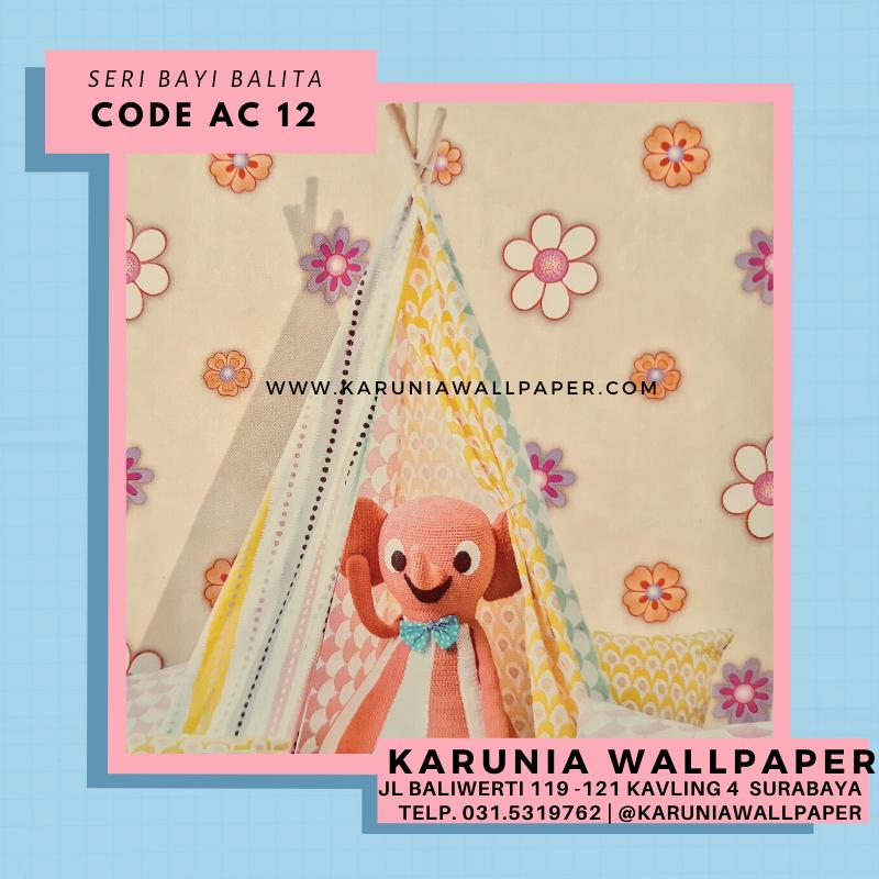 jual wallpaper dinding bayi