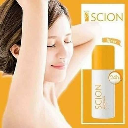 Lăn khử mùi Scion Nuskin Pure White Roll On 75ml của Mỹ