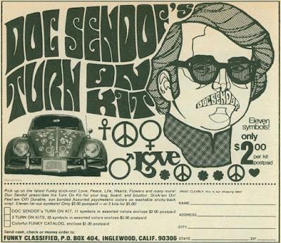 Doc Sendof's Turn On Kit, 1969