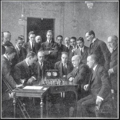 Torneo nacional de ajedrez organizado por el Casino de Zaragoza en 1919
