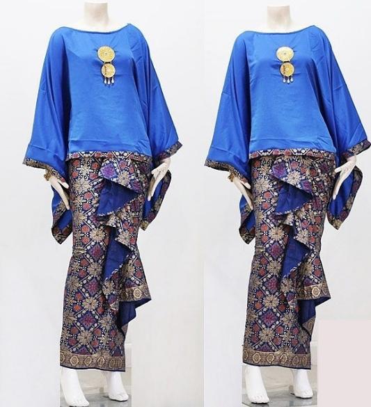Model Dress Batik Pasangan Rok Songket, Pendek Span 2018 ...