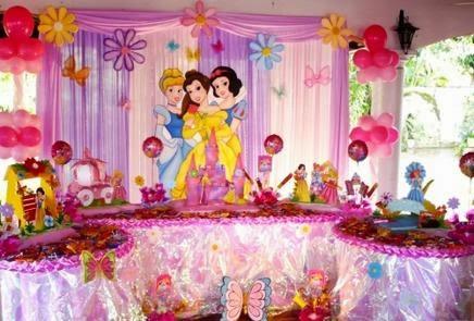 Fiestas infantiles con temáticas para niñas