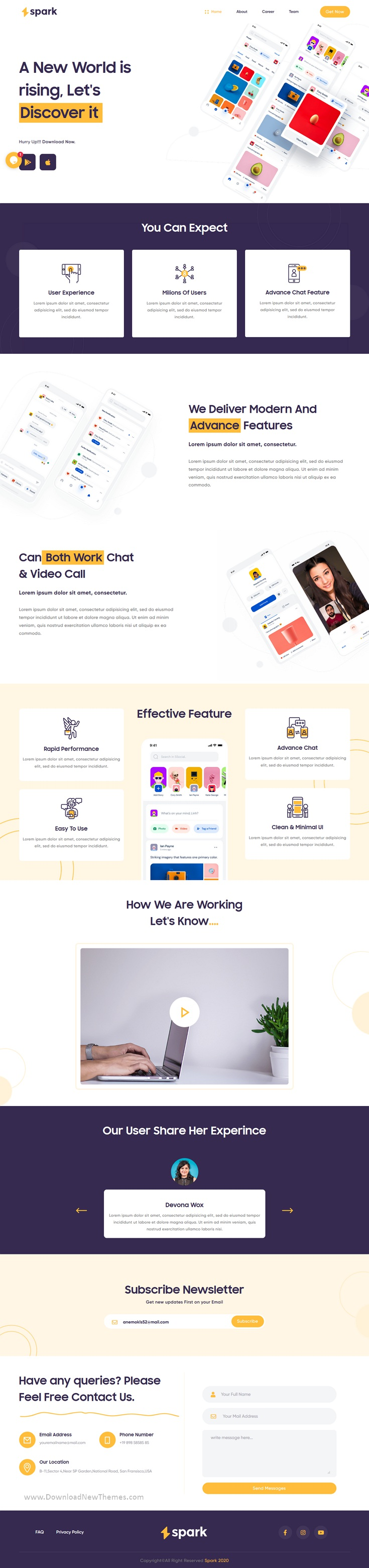 Best Agency And Business Landing Page Template
