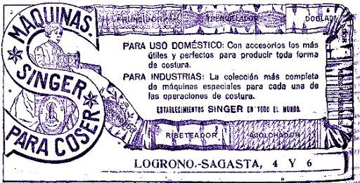 LA TIENDA SINGER DE LOGROÑO