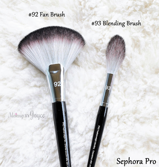 Sephora Collection Pro Featherweight #92 Fan Brush Review
