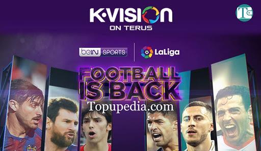 Paket Nonton Bola KVision La Liga Spanyol