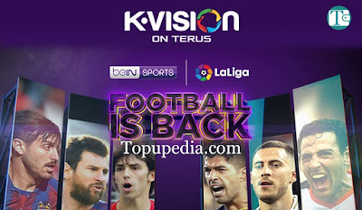 Harga Paket Nonton Bola La Liga Spanyol KVision