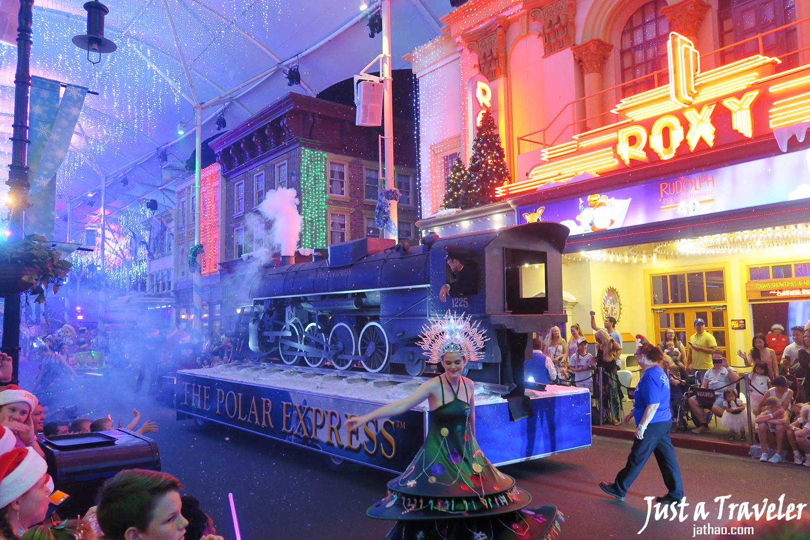 黃金海岸-景點-推薦-電影世界-Movie-World-白色聖誕節-White-Christmas-黃金海岸套票-旅遊-自由行-澳洲-Gold-Coast-theme-park-Australia