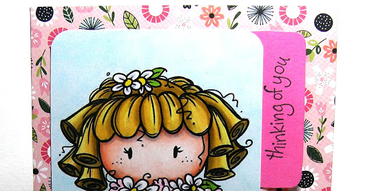"Bugaboo Stamps sponsors us over at Come and Get It where ""flowers"" is the Theme!"