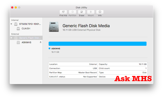 How To Format USB Flash Drive into GPT in Mac - Ask MHS