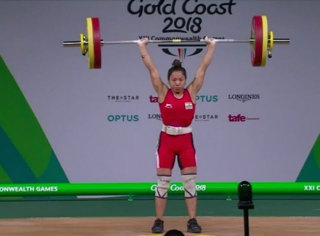 cwg-2018-mirabai-chanu-wins-gold