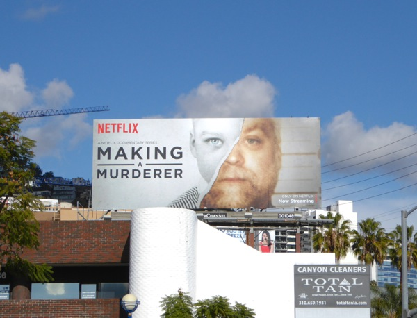 Making a Murderer Netflix series billboard