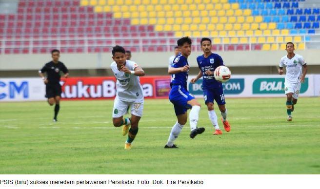 Piala Menpora: PSIS Taklukkan Persikabo 3-1