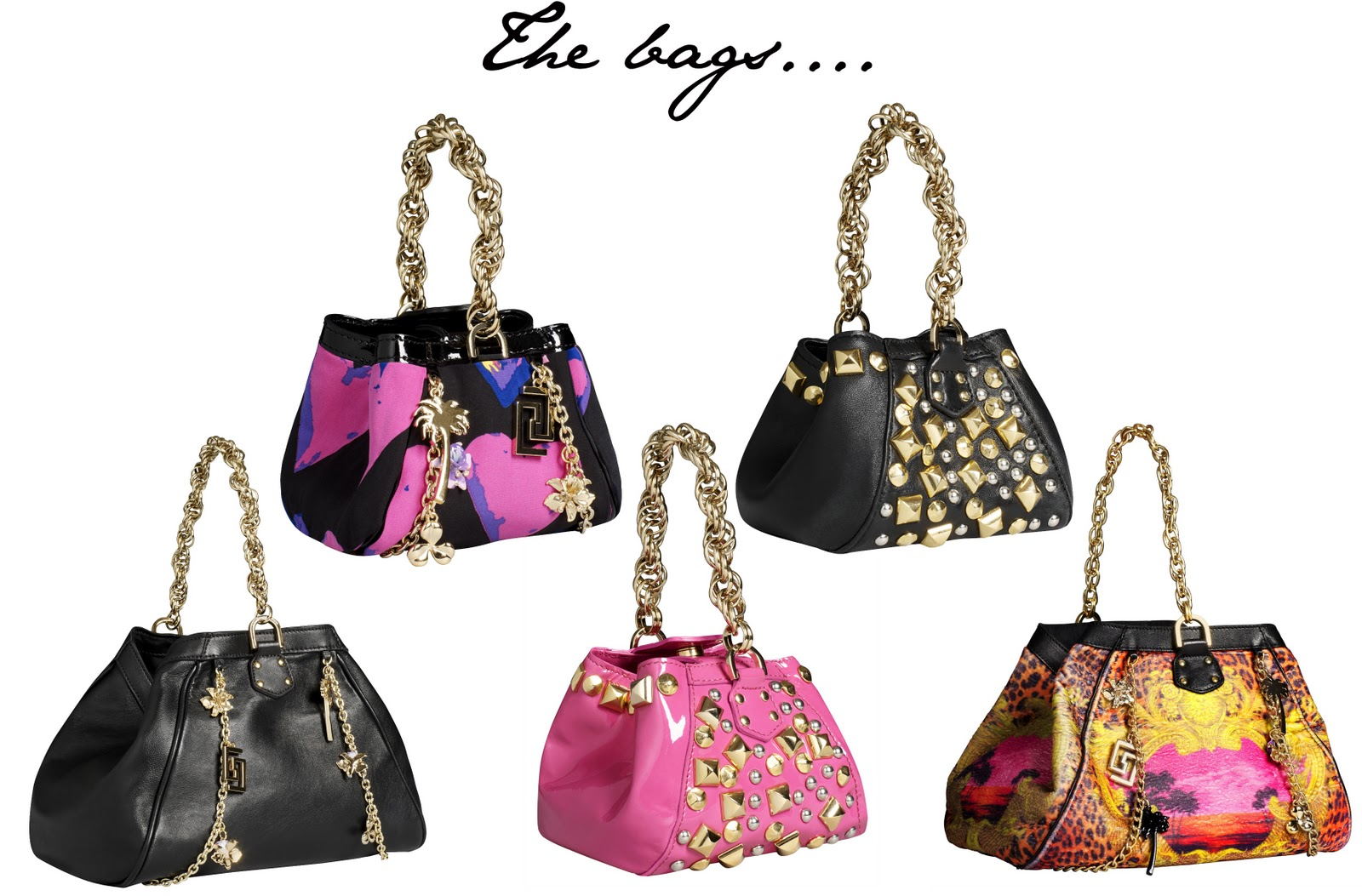 070c41f48cfd Versace for H M  The accessories...bags
