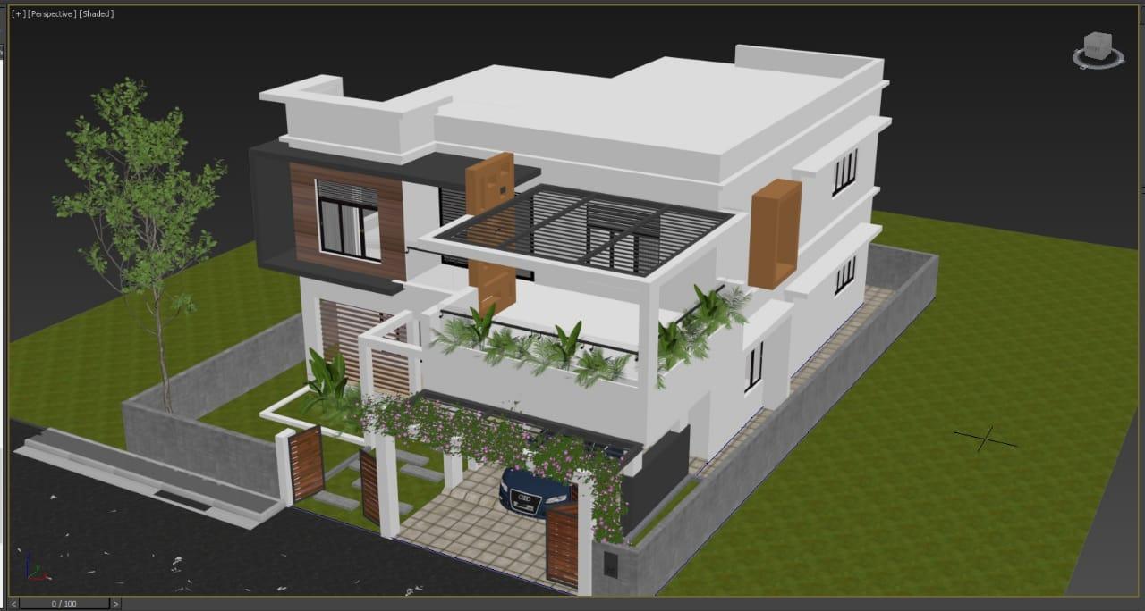 30 lakhs estimated Budget 3BHK Kerala Home Villa