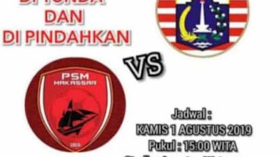 Pendukung PSM Makassar Usulkan Pertandingan Digelar di Stadion Lapatau Bone