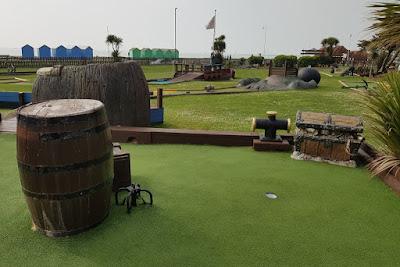 Buccaneer Bay Adventure Golf in Norfolk Gardens, Littlehampton