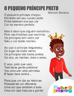 Poema consciência negra o pequeno príncipe preto.