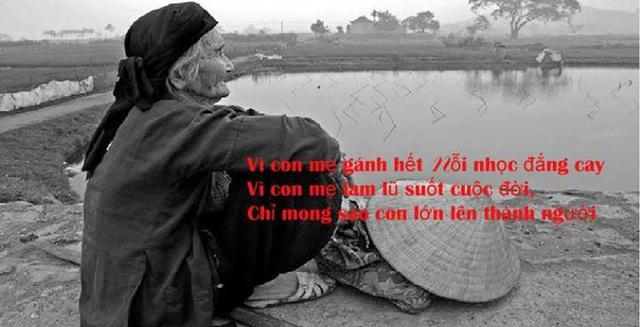 Cô con gái và thùng nước gạo của mẹ
