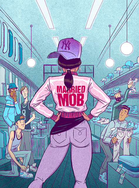 Great illustration work from Koren Shadmi - Married to the mob