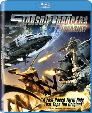 Starship Troopers Invasion 720p HD Español Latino Dual BRRip 2012