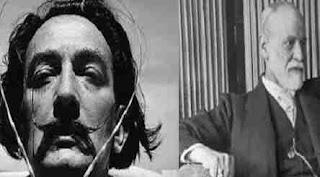 Intalnirea lui Dali cu Freud