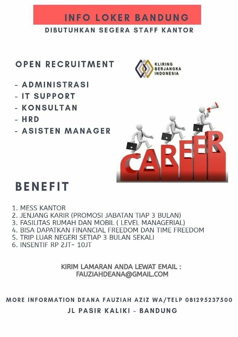 Lowongan Kerja PT.KP Indonesia Bandung Oktober 2020