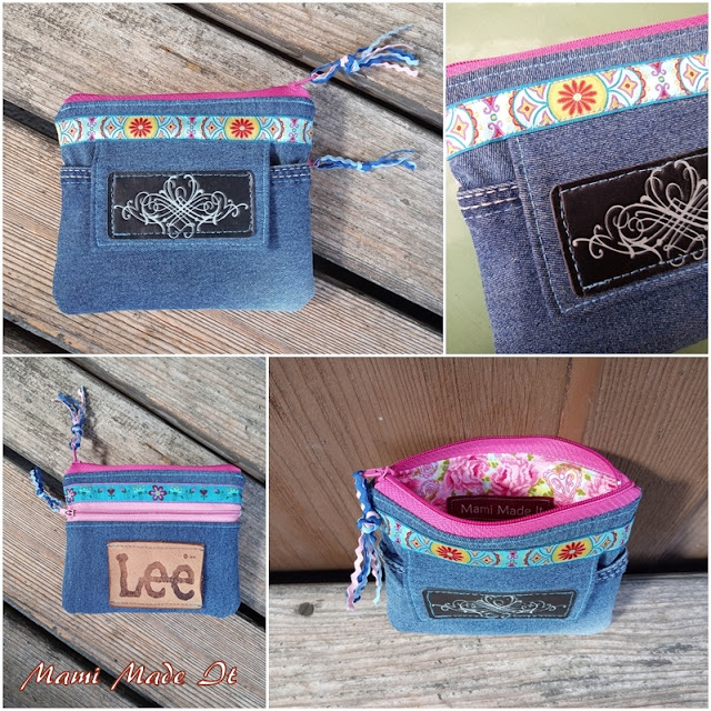 Jeans Geldtasche - Denim Wallet