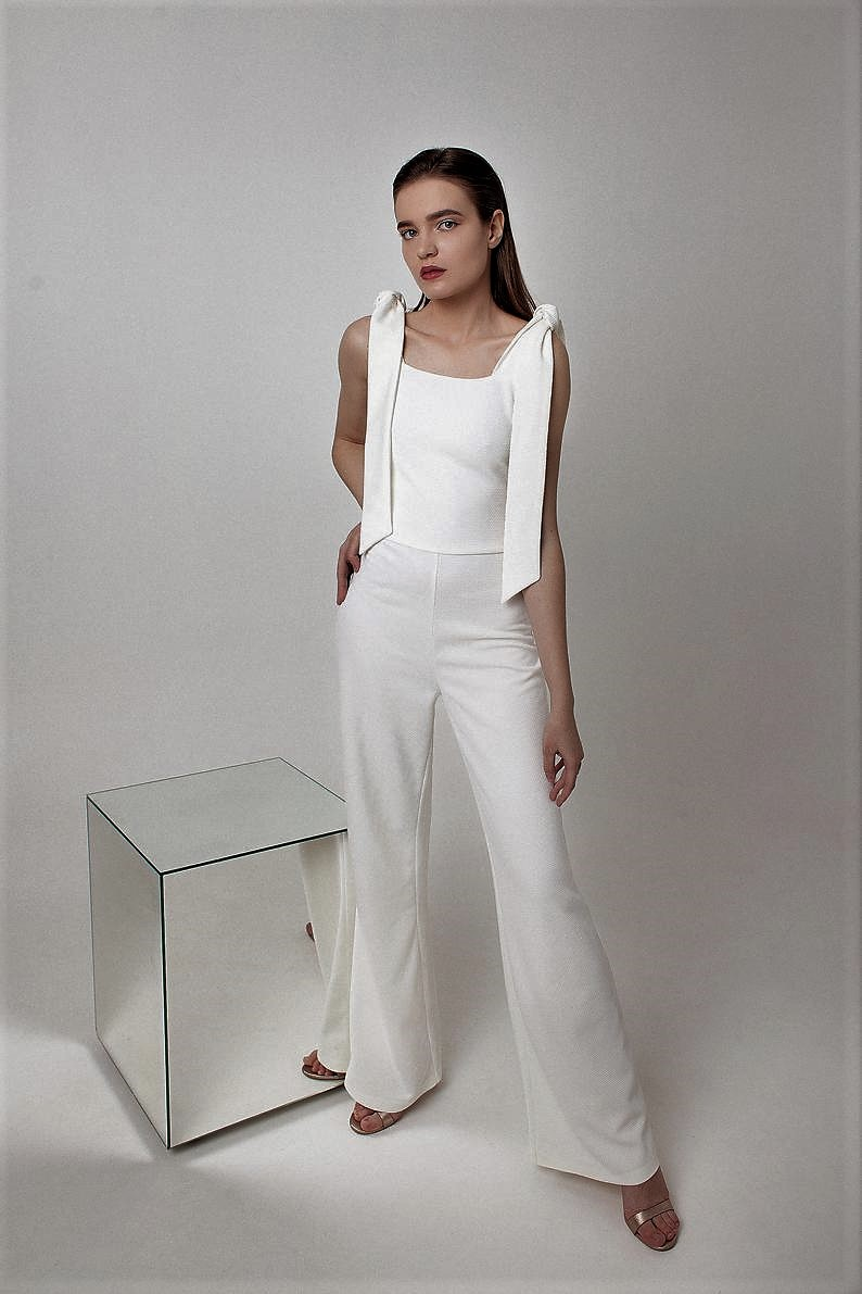 Stylish Bridal Jumpsuits (all under $600) Comfort is the Top Priority