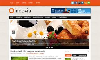 Innovia Blogger Template