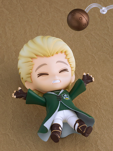 Figuras: Nendoroid de Draco Malfoy: Quidditch Ver de Harry Potter - Good Smile Company