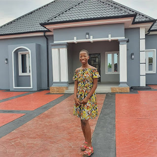 Emmanuella samuel builds house for mother