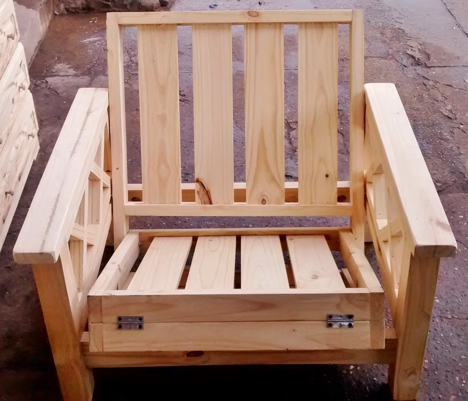 Pichon muebles futones de pino for Precios de futones de 2 plazas