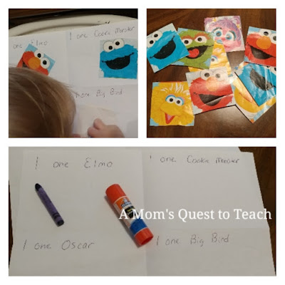 Counting Sesame Street Characters