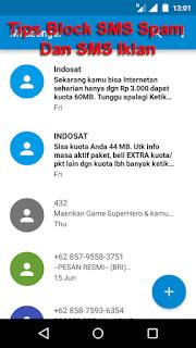 Tips Cara Blokir SMS Spam Hadiah Dan Iklan Di Android blokir sms gak penting