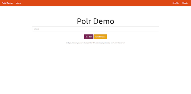 Polr : Open Source URL Shortener Menggunakan Laravel & MySQL