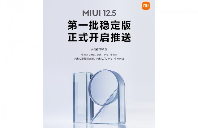 MIUI 12.5 Based On Android 11 : Xiaomi deploys on six more phones