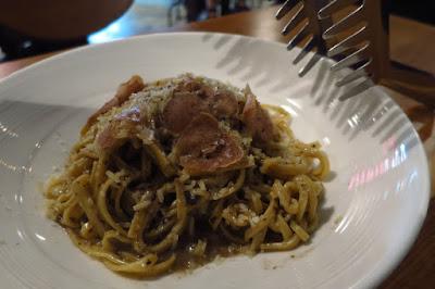 Cicheti - white truffle tagliolini
