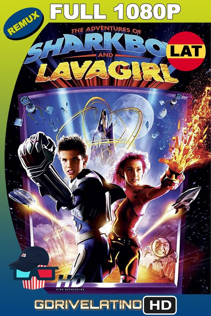 Las Aventuras de Sharkboy y Lavagirl (2005) BDRemux 1080p Latino-Ingles MKV