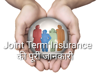 Joint term insurance policy