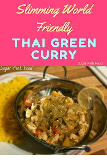 thai green curry slimming world recipe