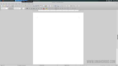 Tampilan LibreOffice Writer