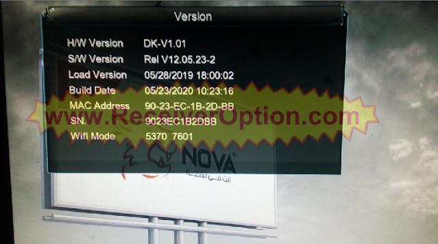 NOVA 10000 1507G 1G 8M NEW SOFTWARE WITH G SHARE PLUS & SHOW ME IPTV OPTION