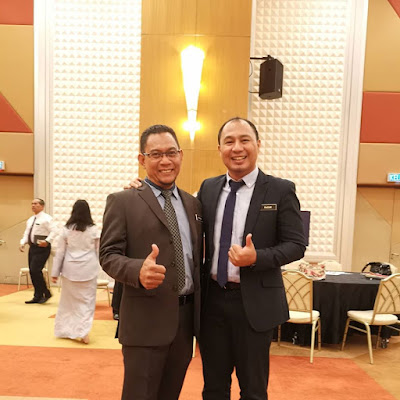 Cikgu Hailmi dan Dr Khairul Anuar