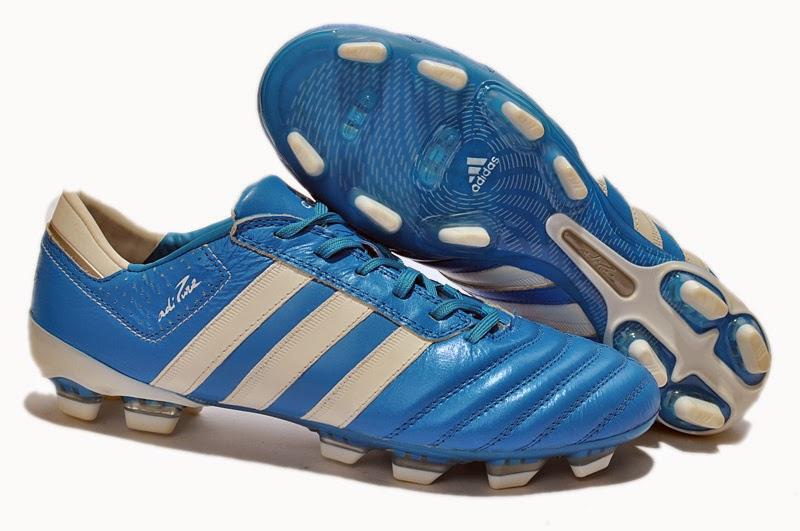 4b5f5031960 Adidas adiPure. New Adidas Blue White Boots 2014