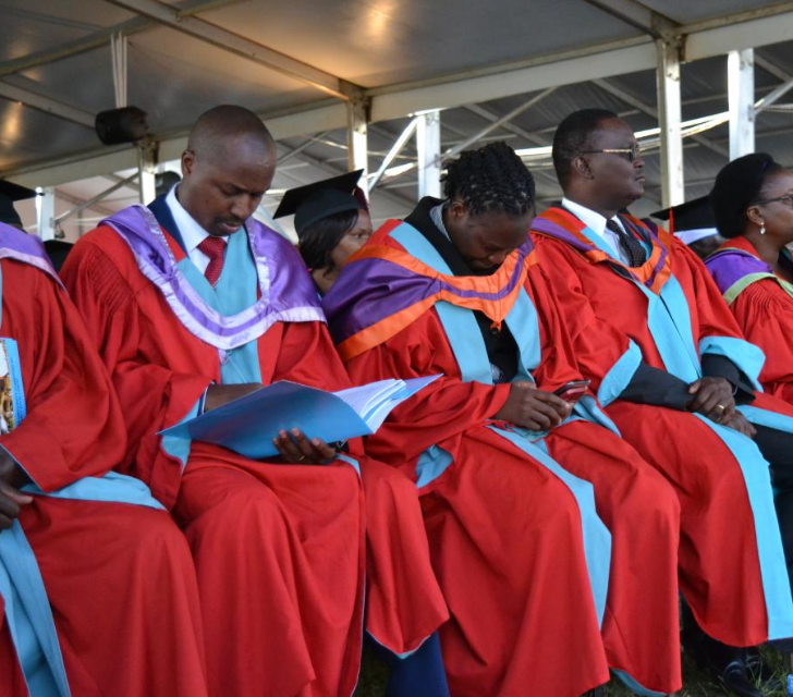 Doctorate Ph.D. graduates at the University of Nairobi