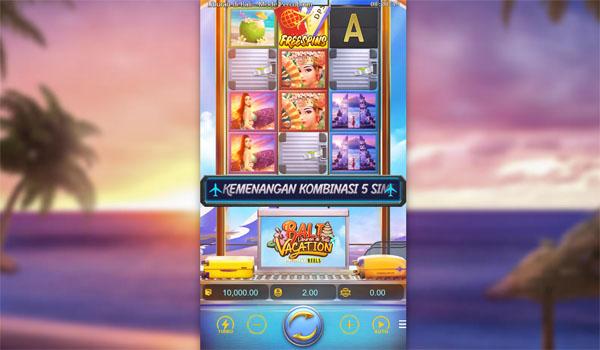 Main Gratis Slot Indonesia - Bali Vacation Infinity Reels PG Soft