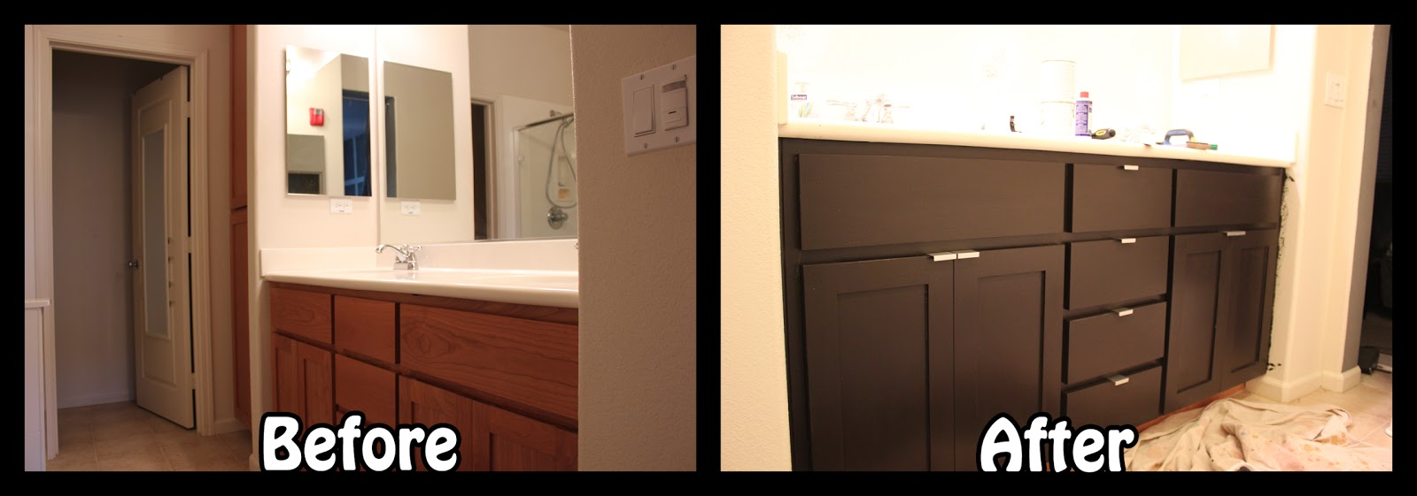 Inside the Frame: The Master Bathroom Project ...